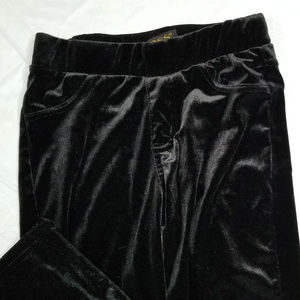 Vigoss Pants - VIGOSS black fuzzy leggings